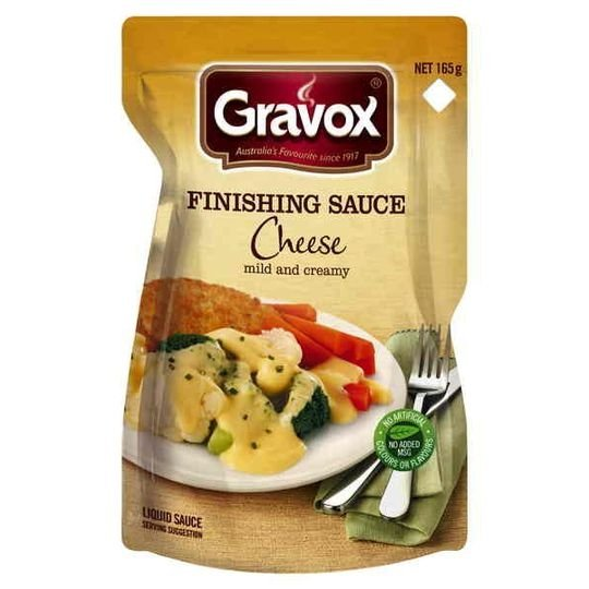 Gravox Finishing Sauce Cheese