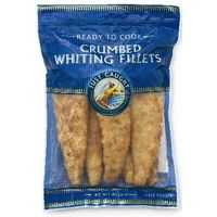 Just Caught Whiting Fillets Crumbed