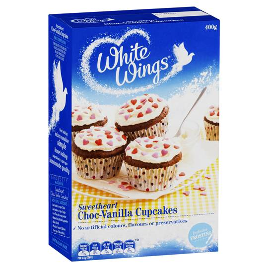 mom71366 reviewed White Wings Cupcake Mix Sweetheart Choc-vanilla