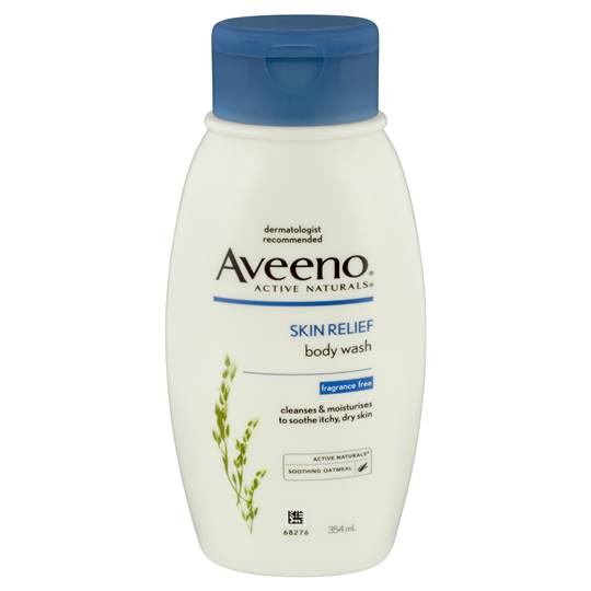 Aveeno Body Wash Skin Relief Fragrance Free