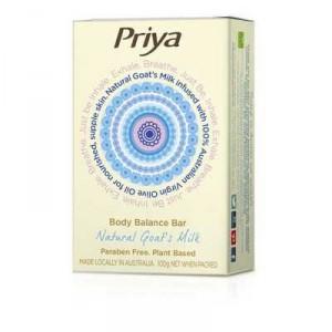 Priya Soap Bar Goats Milk