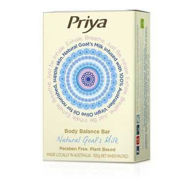 Priya Soap Bar Goats Milk