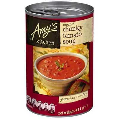 Amys Kitchen Canned Soup Organic Chunky Tomato Bisque