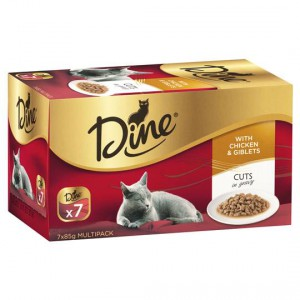 Dine Adult Cat Food Gravy With Chicken & Giblets