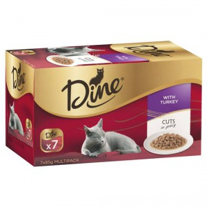 Dine Adult Cat Food Gravy With Turkey