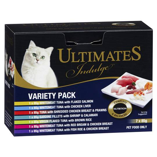 Ultimates Indulge Adult Cat Food Variety Pack
