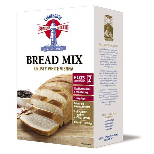 Lighthouse Crusty White Vienna Bread Mix