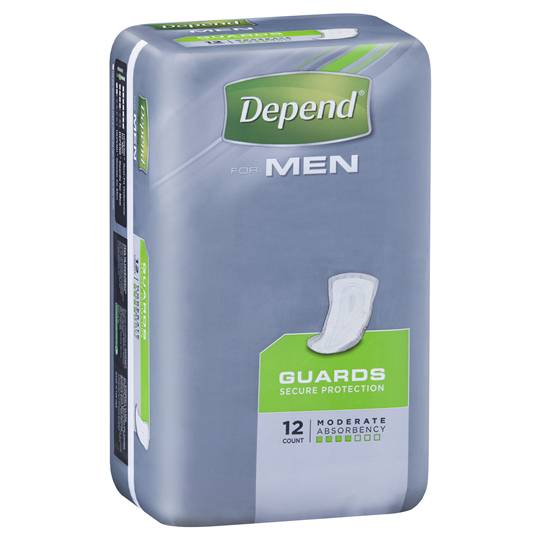Depend Guards For Men Underwear