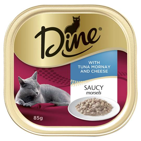 Dine Adult Cat Food Tuna Mornay With Cheese
