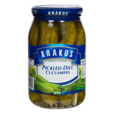 Krakus European Foods Pickled Dill Cucumbers