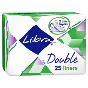 Libra Panty Liners Extra Thin Double