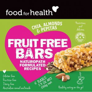 Food For Health Bars Fruit Free