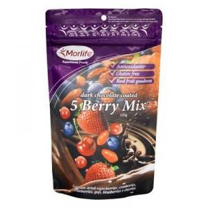 Morlife Snacks Choc Coated 5 Berry Mix