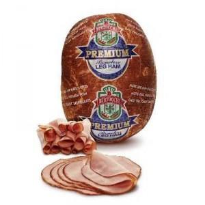 Bertocchi Ham Sliced Leg Premium Boneless