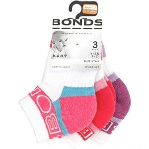 Bonds Baby Socks Sport Active