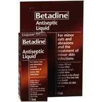 Betadine Antiseptic Liquid