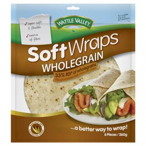 Wattle Valley Wraps Wholegrain