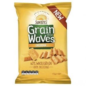 Sunbites Grain Waves Cheddar Cheese