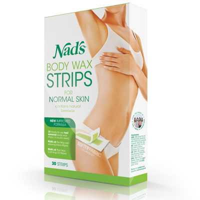 Nads Body Wax Strips
