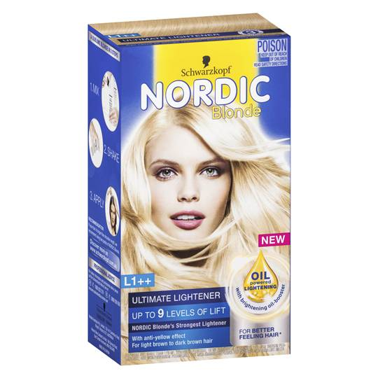 Schwarzkopf Nordic Blonde L1++ Ultimate Lightener