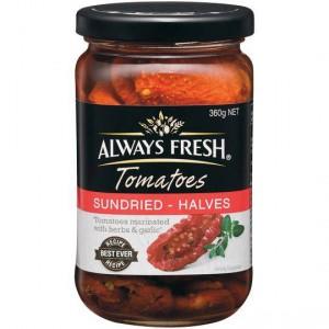 Always Fresh Tomatoes Sundried Canola Oil