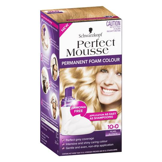 Schwarzkopf Perfect Mousse 10 Pearl Blonde