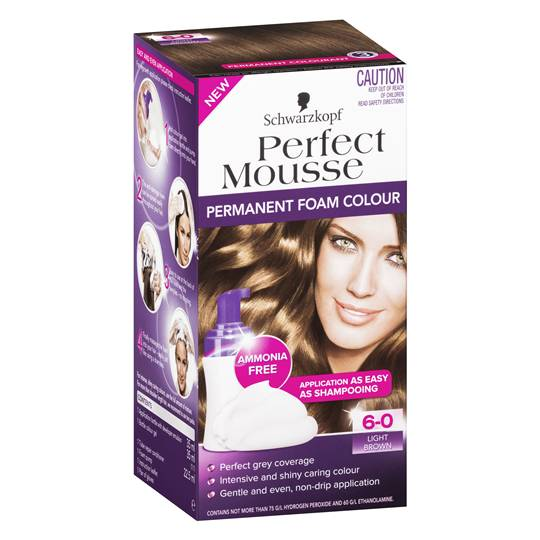 Schwarzkopf Perfect Mousse 6.0 Light Brown