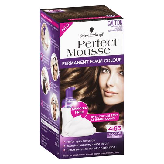 Schwarzkopf Perfect Mousse 4.65 Chocolate Brown