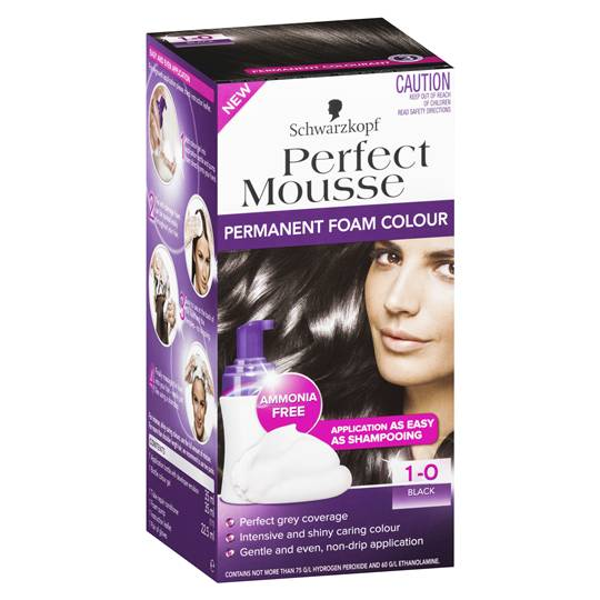 Schwarzkopf Perfect Mousse 1.0 Black