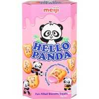 Meiji Hello Panda Snacks Strawberry