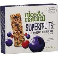 Nice & Natural Super Fruits Cranberry & Blueberry