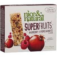 Nice & Natural Super Fruits Muesli Bar Raspberry & Pomegranate