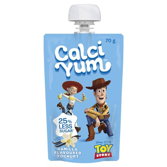 Calci Yum Kids Squeezie Boy & Girl Vanilla Yoghurt