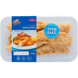 De Costi Whiting Fillets Crumbed