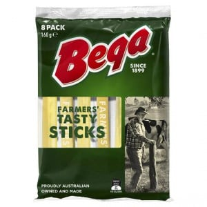 Bega Tasty Stick Cheese