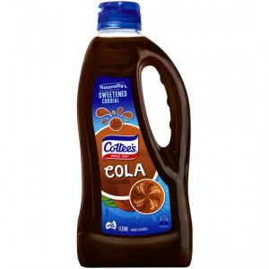 Cottees Cola Cordial