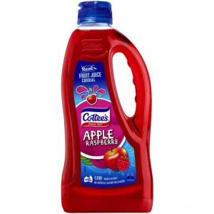 Cottees Apple & Raspberry Cordial