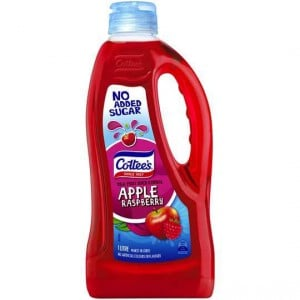 Cottees Apple & Raspberry Cordial No Added Sugar
