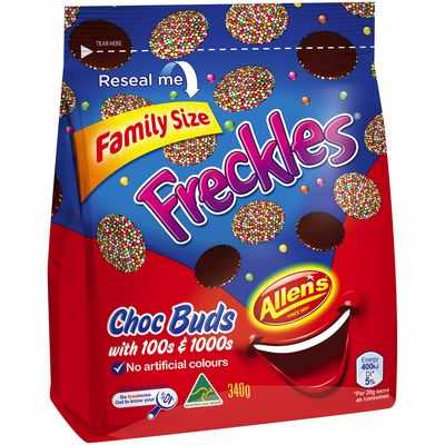 Allen's Freckles Family Size