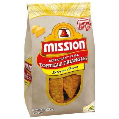 Mission Corn Chips Extreme Cheese