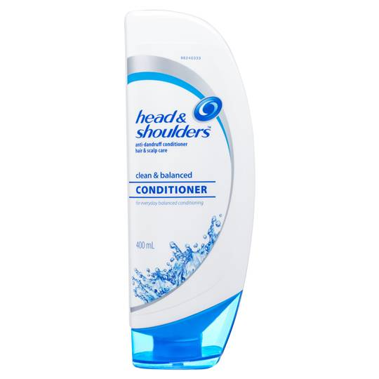 Head & Shoulders Clean & Balanced Hair Scalp Care Anti Dandruff Conditioner