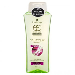 Schwarzkopf Extra Care Shampoo Push Up Volume Hair Repair