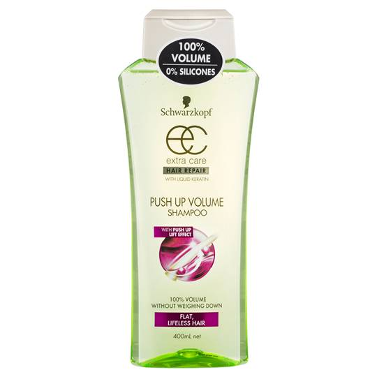 Schwarzkopf Extra Care Shampoo Push Up Volume Hair Repair