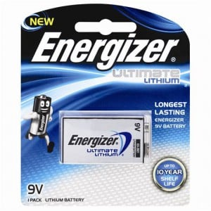 Energizer Lithium Ultimate 9v Batteries