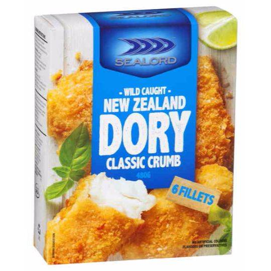 Sealord Crumbed Dory Pieces Classic