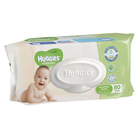 Huggies Baby Wipes Cucumber & Aloe