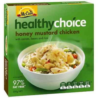 Mccain Healthy Choice Honey Mustard Chicken