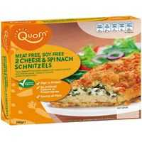 Quorn Schnitzels Cheese & Spinach