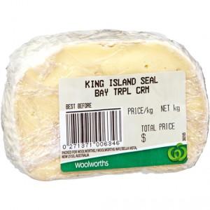 King Island Triple Cream Seal Bay Cheese