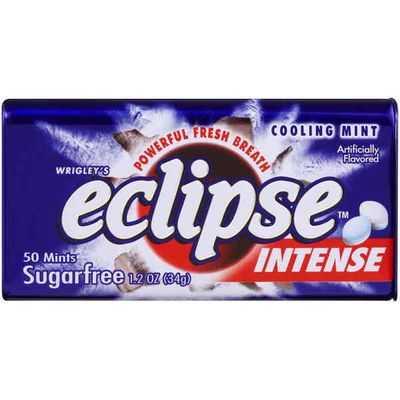 Wrigley's Eclipse Sugarfree Gum Intense